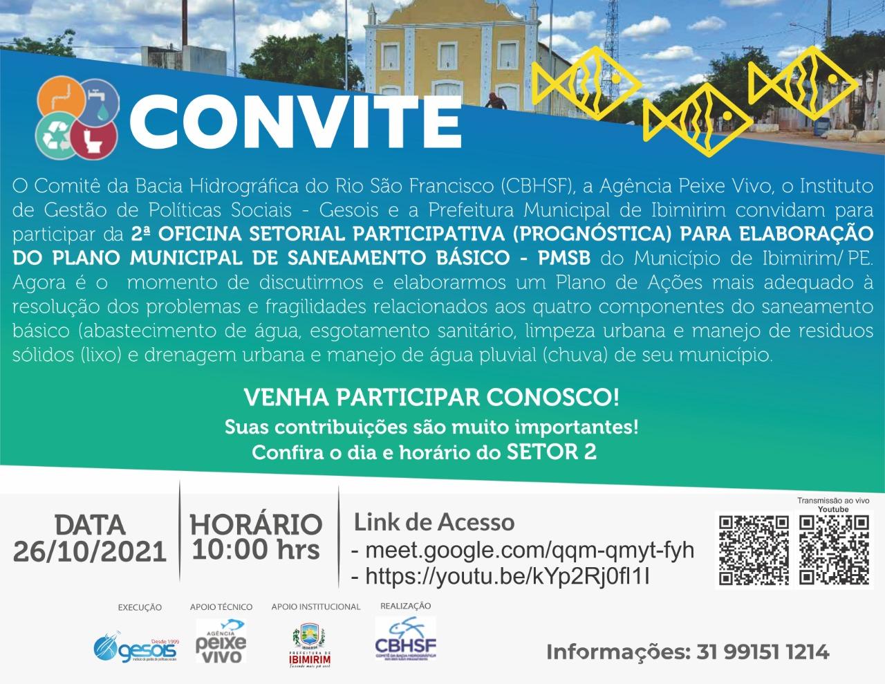 SETOR 2: – Sul Moxotó, Puiu, Salgado, Macambira 1 e 2, Aldeia Capinawa – Municipal.